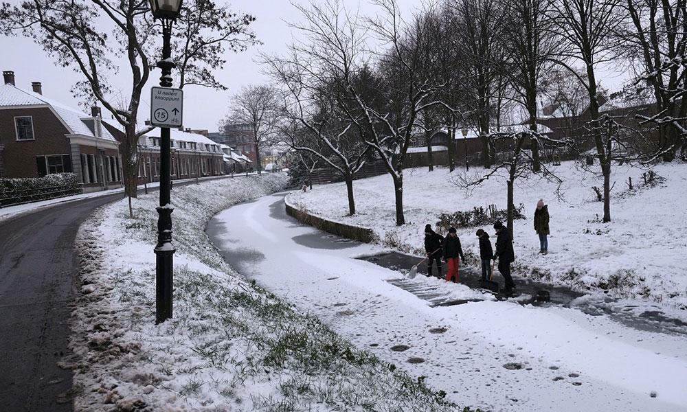 Winter in Wijk Bij Duurstede
