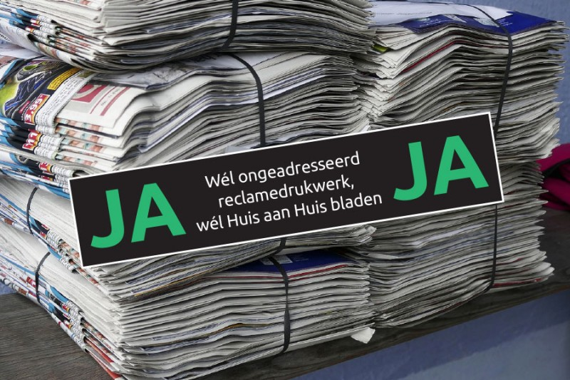 Ja/Ja sticker