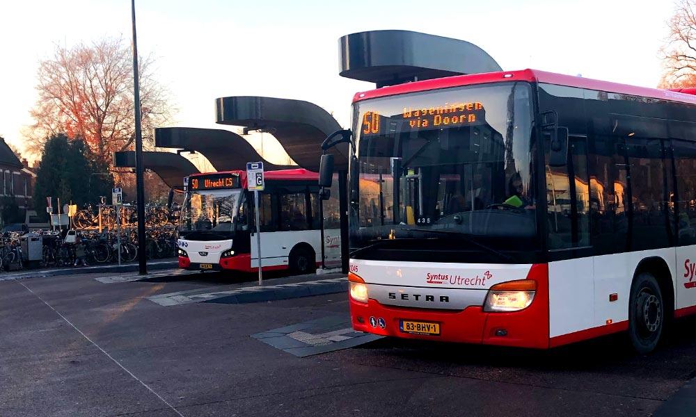 Bussen OV Station Driebergen-Zeist