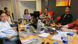 Nieuwe radioshow door bewoners AZC Leersum