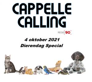 Cappelle Calling – Dierendag Special – 4 oktober 2021